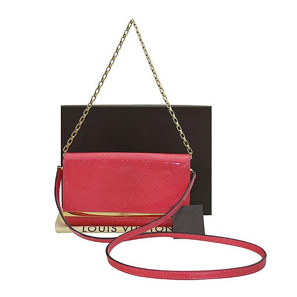 Louis Vuitton(루이비통) M90274 모노그램 베르니 핑크 포쉐트 아나 클러치 겸 크로스백 [부산센텀본점]