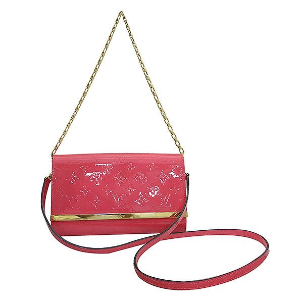 Louis Vuitton(루이비통) M90274 모노그램 베르니 핑크 포쉐트 아나 클러치 겸 크로스백 [부산센텀본점] 이미지2 - 고이비토 중고명품