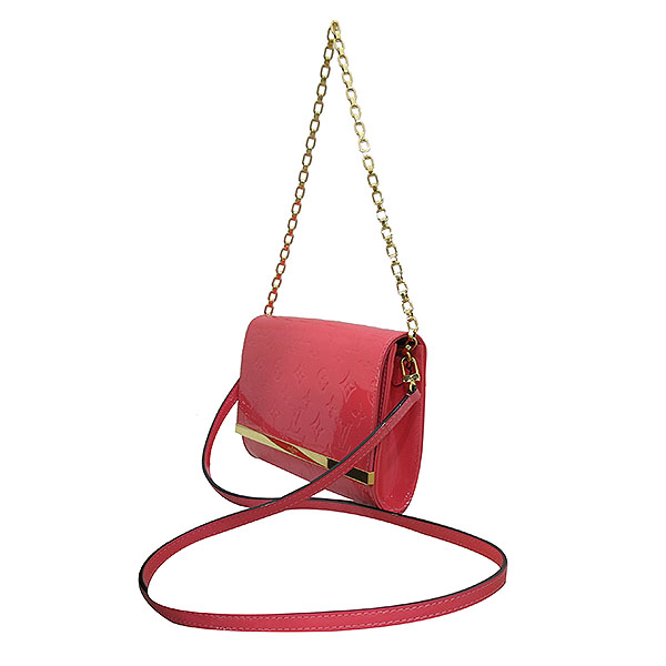 Louis Vuitton(루이비통) M90274 모노그램 베르니 핑크 포쉐트 아나 클러치 겸 크로스백 [부산센텀본점] 이미지3 - 고이비토 중고명품