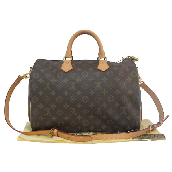 Louis Vuitton(루이비통) M40392 모노그램 캔버스 반둘리에 스피디 35 토트백 + 숄더스트랩 2WAY [대구반월당본점]