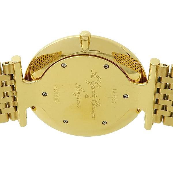 LONGINES(론진) L4.755.2 La Grande Classique(라 그랑데 클래식) 금장 쿼츠 남성용 시계 [강남본점] 이미지4 - 고이비토 중고명품