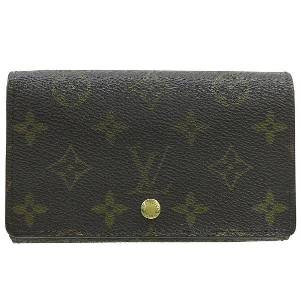 Louis Vuitton(루이비통) M61736 모노그램 캔버스 트레조 월릿 중지갑 [강남본점]