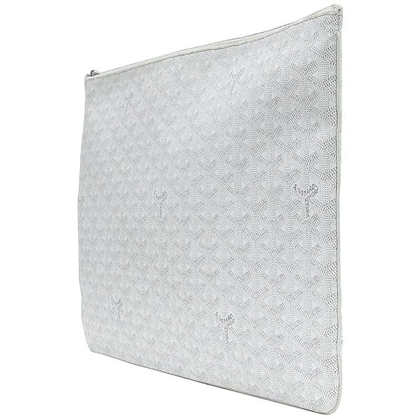 GOYARD(고야드) 스페셜 화이트 컬러 SENAT(세나) GM 클러치 [강남본점] 이미지3 - 고이비토 중고명품