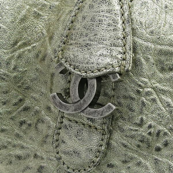 Chanel(샤넬) 골드 매탈릭 레더 볼링 토트백 [강남본점] 이미지4 - 고이비토 중고명품