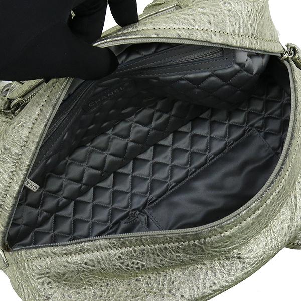 Chanel(샤넬) 골드 매탈릭 레더 볼링 토트백 [강남본점] 이미지6 - 고이비토 중고명품