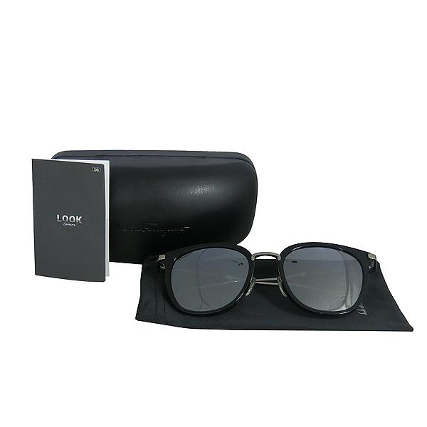 Ferragamo(페라가모) SF898SK 은장 투톤 블랙 측면 로고 뿔테 선글라스 [동대문점]