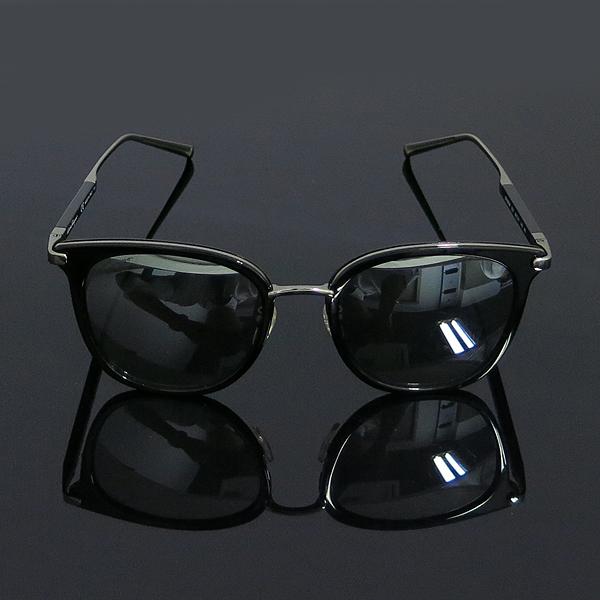 Ferragamo(페라가모) SF898SK 은장 투톤 블랙 측면 로고 뿔테 선글라스 [동대문점] 이미지3 - 고이비토 중고명품