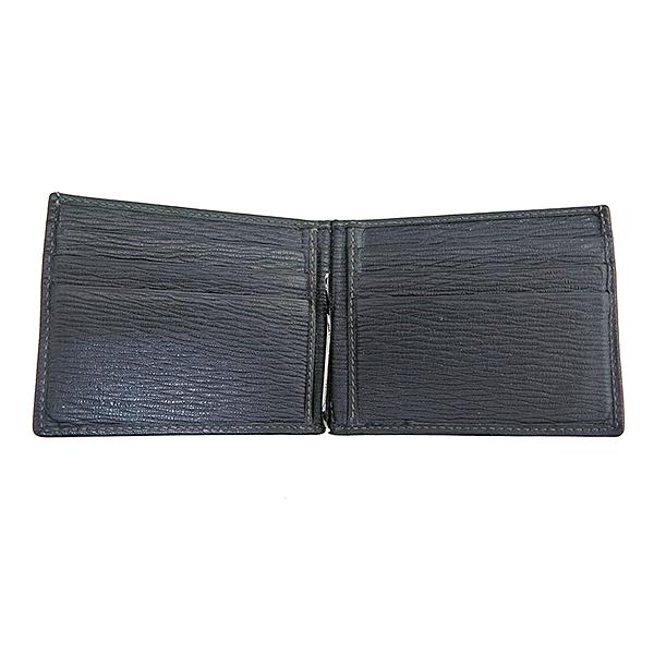 Ferragamo(페라가모) 66 8060 블랙 레더 머니 클립 반지갑 [부산센텀본점] 이미지4 - 고이비토 중고명품
