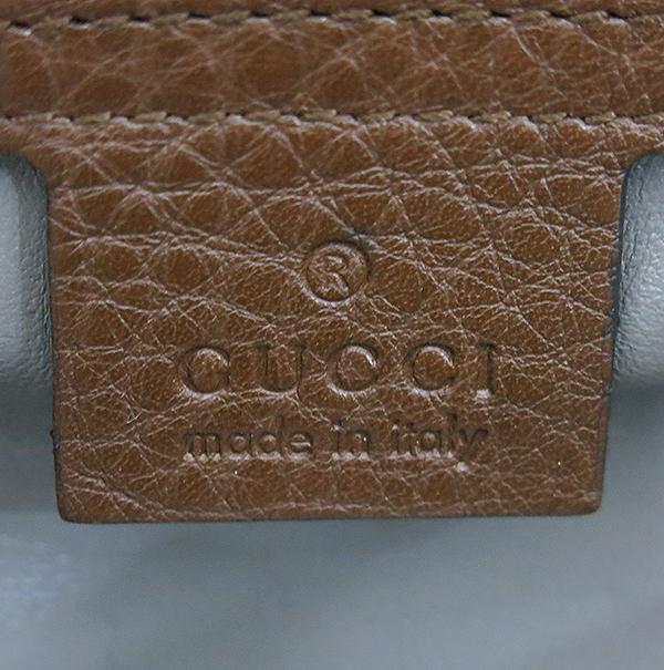 Gucci(구찌) 354476 브라운 레더 뱀부 태슬장식 토트백 [부산센텀본점] 이미지4 - 고이비토 중고명품