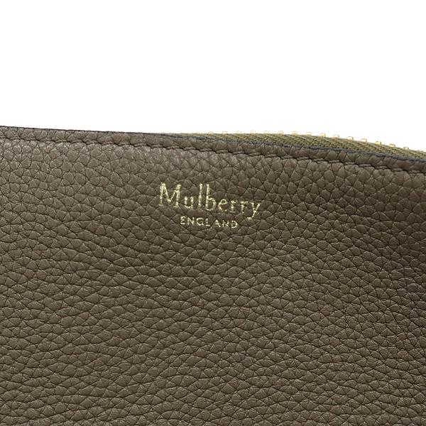MULBERRY(멀버리) HH3669-205 CAMDEN(캠든) 스몰 브라운 레더 측면 지퍼 장식 숄더백 [강남본점] 이미지4 - 고이비토 중고명품