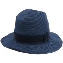 Hermes(에르메스) 100% PAPIER(종이) 네이비 컬러 측면 로고 디테일 모자 [강남본점]