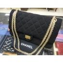 샤넬  Chanel(샤넬) A37587 블랙 빈티지 2.55 M사이즈 금장 체인 숄더백[청주금천광장점]
