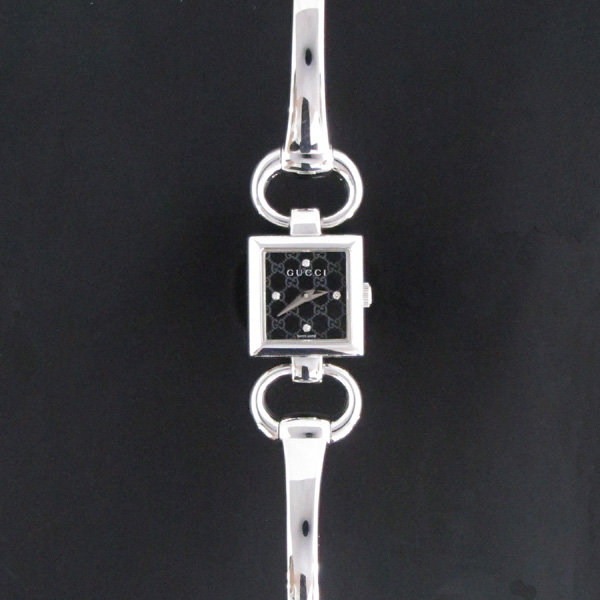 Gucci(구찌) YA120507 사각 스틸 4포인트 다이아 팔찌형 여성용 시계 [대구반월당본점]