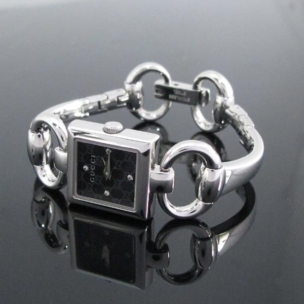 Gucci(구찌) YA120507 사각 스틸 4포인트 다이아 팔찌형 여성용 시계 [대구반월당본점] 이미지2 - 고이비토 중고명품