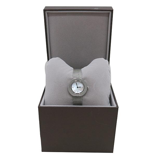 Gucci(구찌) 129.5 3포인트 다이아 자개판 스틸밴드 여성용 시계 [인천점]