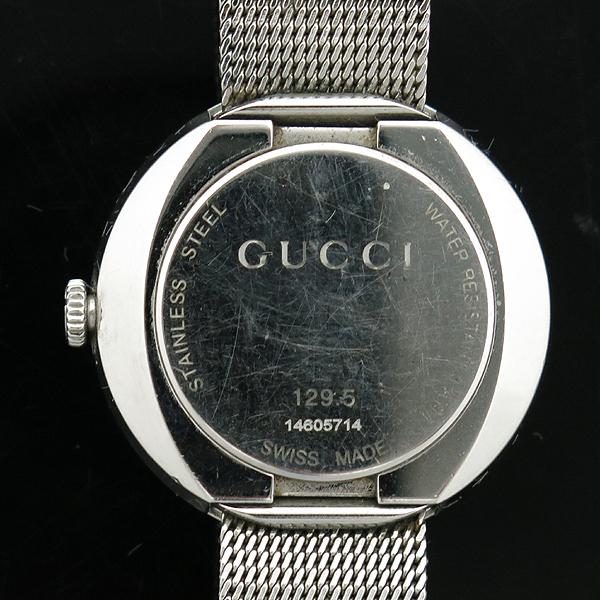Gucci(구찌) 129.5 3포인트 다이아 자개판 스틸밴드 여성용 시계 [인천점] 이미지3 - 고이비토 중고명품