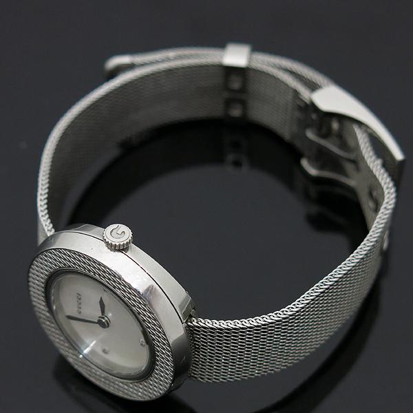 Gucci(구찌) 129.5 3포인트 다이아 자개판 스틸밴드 여성용 시계 [인천점] 이미지4 - 고이비토 중고명품