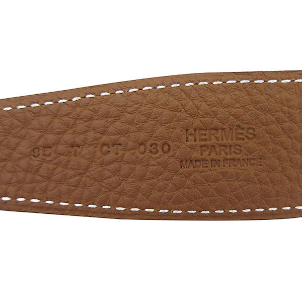 Hermes(에르메스) H064540 H 로고 은장 버클 남성 양면 벨트 [부산센텀본점] 이미지3 - 고이비토 중고명품