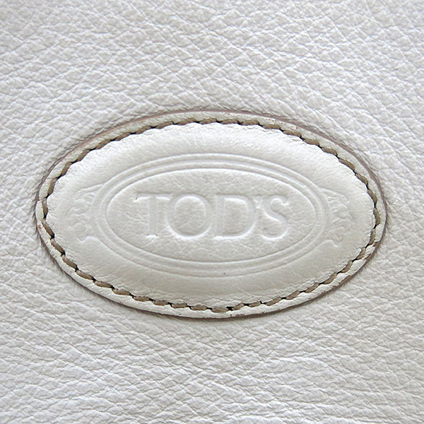 Tod's(토즈) 벨트 장식 화이트 레더 호보 숄더백 [부산센텀본점] 이미지4 - 고이비토 중고명품