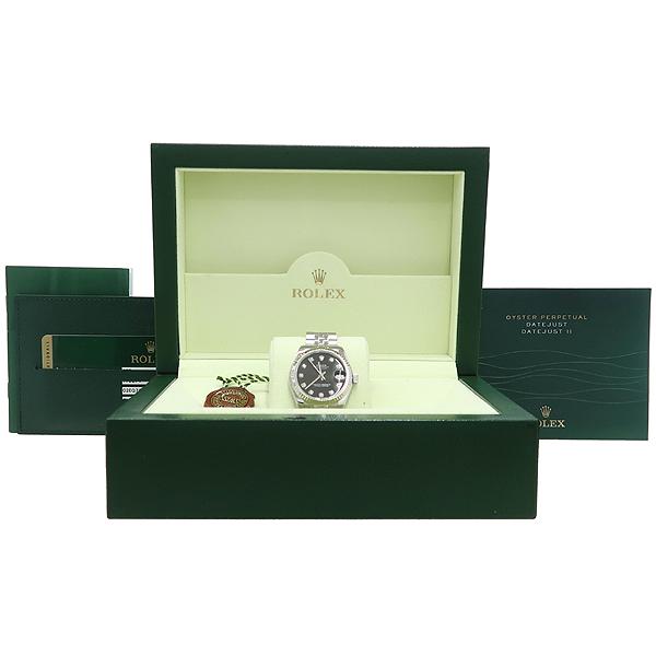 Rolex(로렉스) 178274 DATEJUST 데이트저스트 31MM 10포인트 다이아 블랙 다이얼 스틸  여성용 시계 [강남본점]