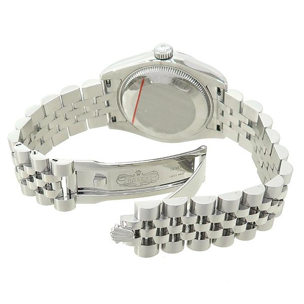 Rolex(로렉스) 178274 DATEJUST 데이트저스트 31MM 10포인트 다이아 블랙 다이얼 스틸  여성용 시계 [강남본점] 이미지3 - 고이비토 중고명품