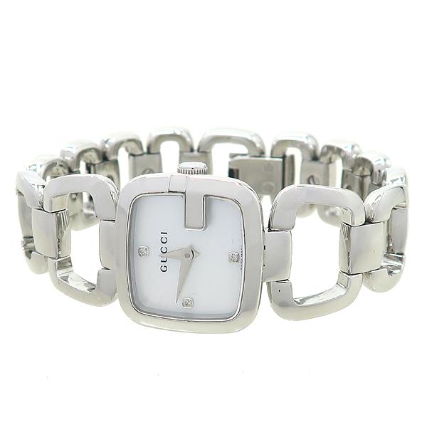Gucci(구찌) YA125502 125.5 자개판 3포인트 스틸 여성용 시계 [강남본점] 이미지2 - 고이비토 중고명품