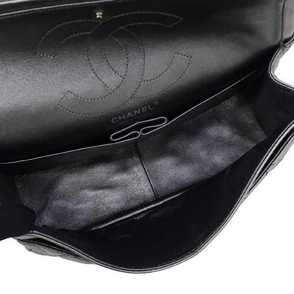 Chanel(샤넬) 2.55 빈티지 메탈릭 실버 L 사이즈 은장 체인 숄더백 [강남본점] 이미지6 - 고이비토 중고명품