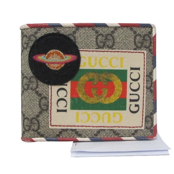 Gucci(구찌) 473905 GG 로고 PVC 패치 자수 슈프림 반지갑 [대구반월당본점]