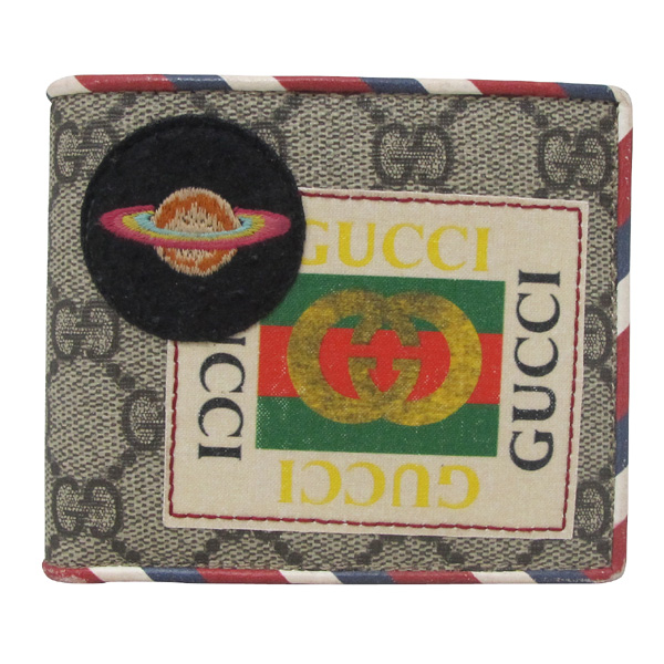 Gucci(구찌) 473905 GG 로고 PVC 패치 자수 슈프림 반지갑 [대구반월당본점] 이미지2 - 고이비토 중고명품