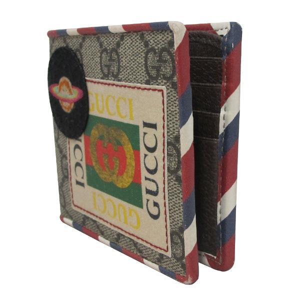 Gucci(구찌) 473905 GG 로고 PVC 패치 자수 슈프림 반지갑 [대구반월당본점] 이미지3 - 고이비토 중고명품