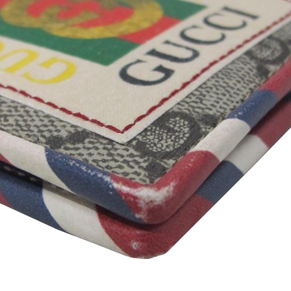 Gucci(구찌) 473905 GG 로고 PVC 패치 자수 슈프림 반지갑 [대구반월당본점] 이미지4 - 고이비토 중고명품