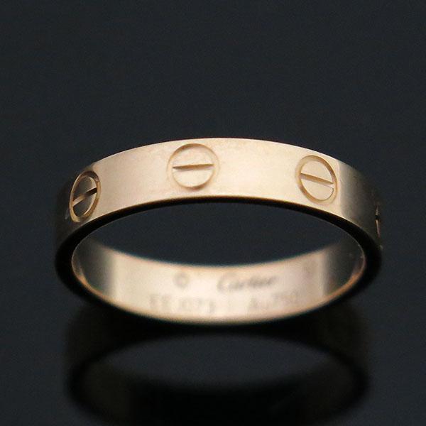 Cartier(까르띠에) B4085249 18K 핑크 골드 미니 러브링 반지 - 11호 [부산센텀본점] 이미지3 - 고이비토 중고명품