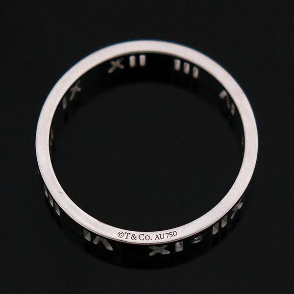 Tiffany(티파니) 18K 화이트골드 아틀라스 피어스드 4포인트 다이아 반지 - 18호 [부산센텀본점] 이미지4 - 고이비토 중고명품