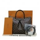 Louis Vuitton(루이비통) N41546 다미에 에벤 캔버스 시에나 MM 토트백 + 숄더스트랩 2WAY [인천점]