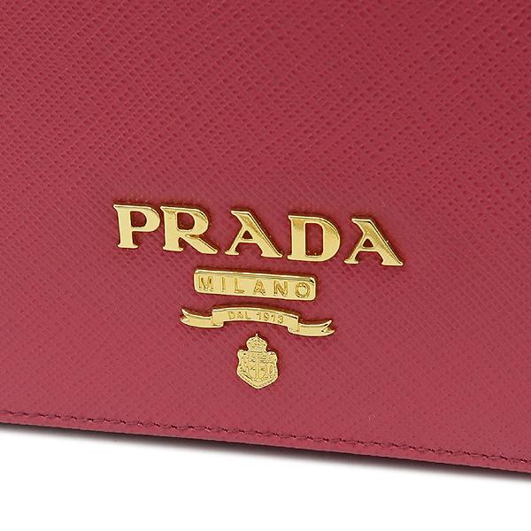 Prada(프라다) 1BP006 SAFFIANO LUX 핑크 컬러 사피아노 럭스 미니 체인 크로스백 [강남본점] 이미지4 - 고이비토 중고명품