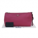 Prada(프라다) BP0866 핑크 비텔로 다이노 여성용 클러치 백 [부산센텀본점]
