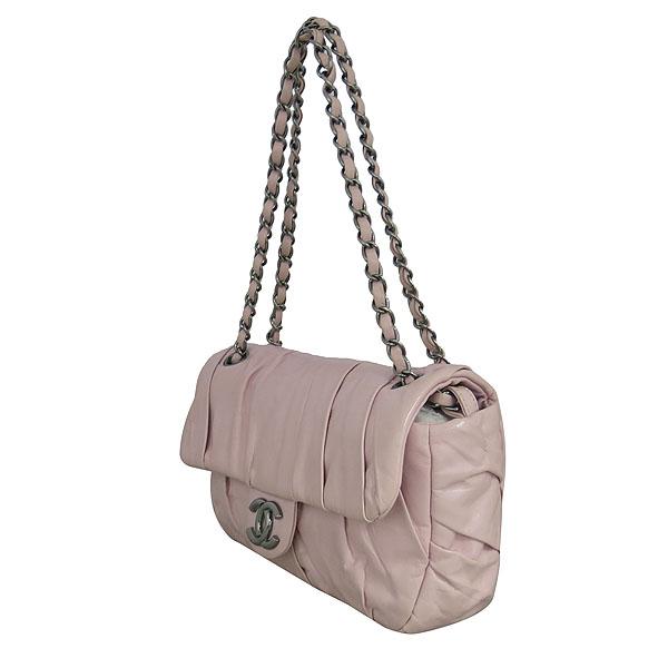 Chanel(샤넬) COCO로고 핑크 레더 셔링 체인 숄더백 [동대문점] 이미지3 - 고이비토 중고명품