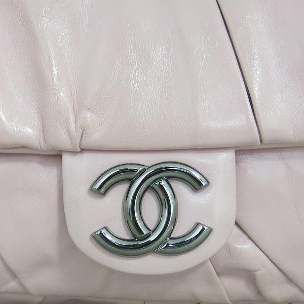 Chanel(샤넬) COCO로고 핑크 레더 셔링 체인 숄더백 [동대문점] 이미지4 - 고이비토 중고명품