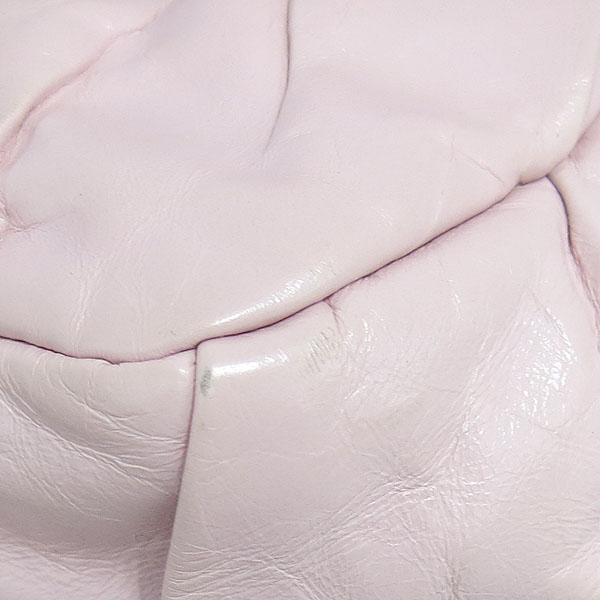 Chanel(샤넬) COCO로고 핑크 레더 셔링 체인 숄더백 [동대문점] 이미지5 - 고이비토 중고명품