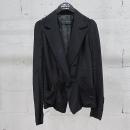 MICHAA(미샤) 블랙 컬러 셔링 여성용 자켓 [동대문점]
