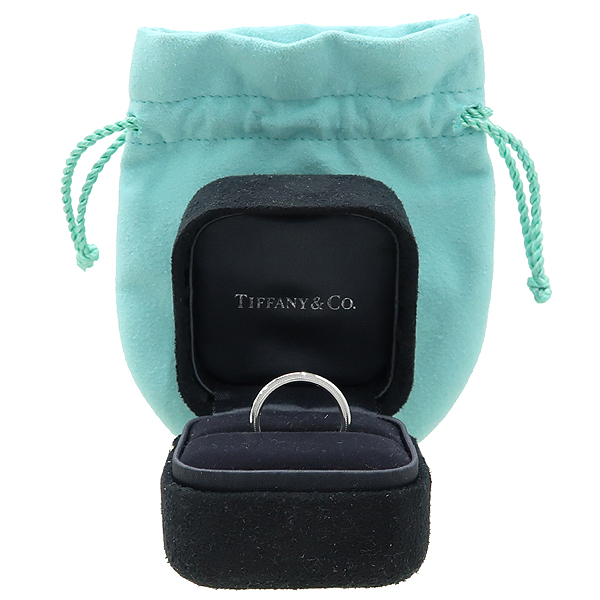 Tiffany(티파니) PT950(플래티늄) 밀그레인 3MM 반지 - 9호  [대구동성로점]