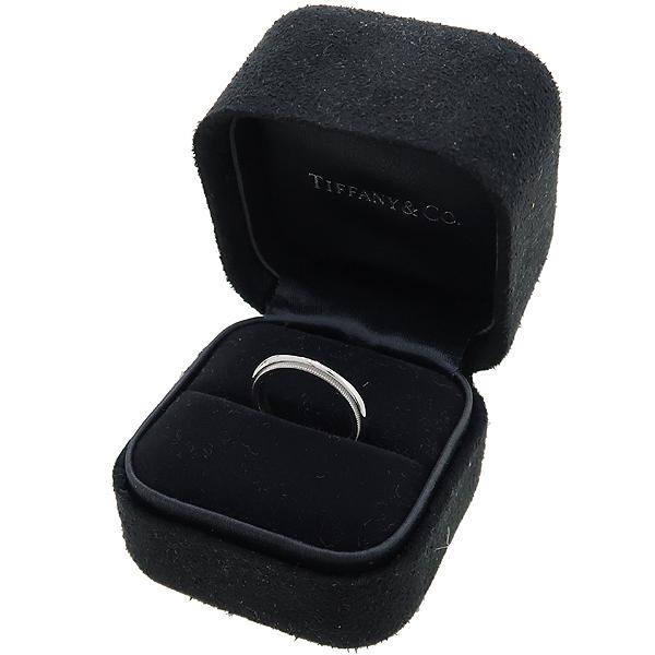 Tiffany(티파니) PT950(플래티늄) 밀그레인 3MM 반지 - 9호  [대구동성로점] 이미지2 - 고이비토 중고명품