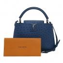 Louis Vuitton(루이비통) N93918 타조가죽 오션 블루 컬러 카푸신(카퓌신) PM 2WAY [부산센텀본점]