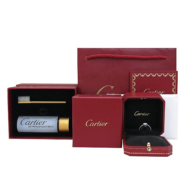 Cartier(까르띠에) B4204551 PT950(플래티늄) 1포인트 0.31ct 다이아 웨딩 반지 - 11호 [부산센텀본점]