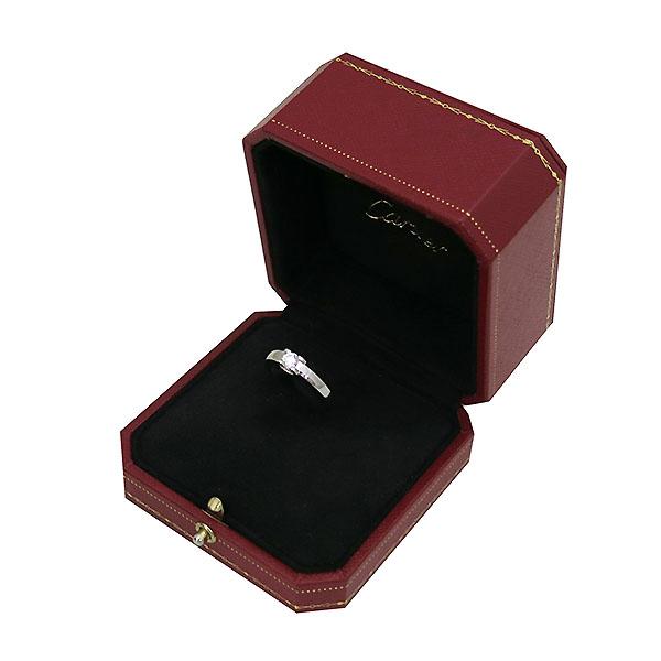 Cartier(까르띠에) B4204551 PT950(플래티늄) 1포인트 0.31ct 다이아 웨딩 반지 - 11호 [부산센텀본점] 이미지2 - 고이비토 중고명품
