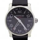 Montblanc(몽블랑) 36065 타임워커 GMT 오토매틱 블랙 가죽밴드 남성용 시계 [강남본점]