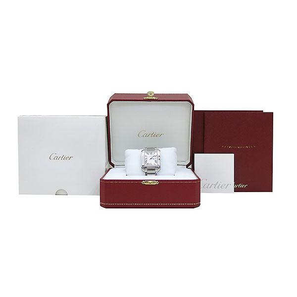 Cartier(까르띠에) W5310009 앙글레즈 L사이즈 오토매틱 스틸 남성용 시계 [부산센텀본점]