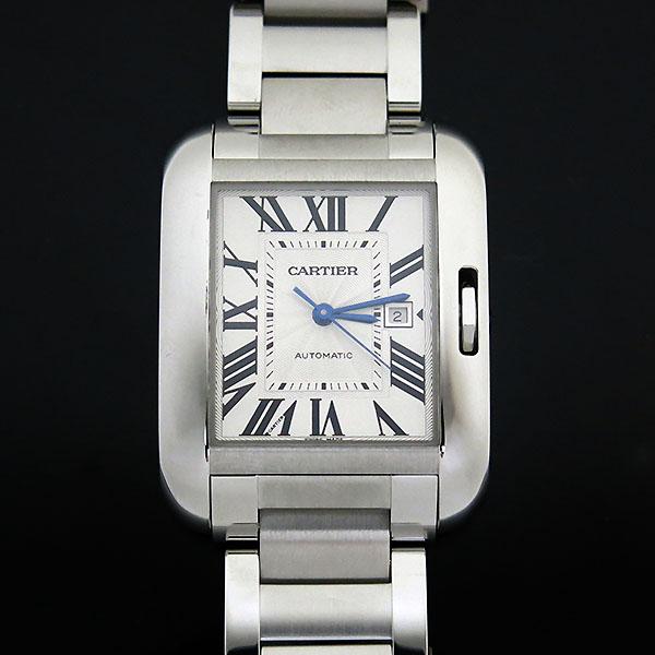 Cartier(까르띠에) W5310009 앙글레즈 L사이즈 오토매틱 스틸 남성용 시계 [부산센텀본점] 이미지2 - 고이비토 중고명품
