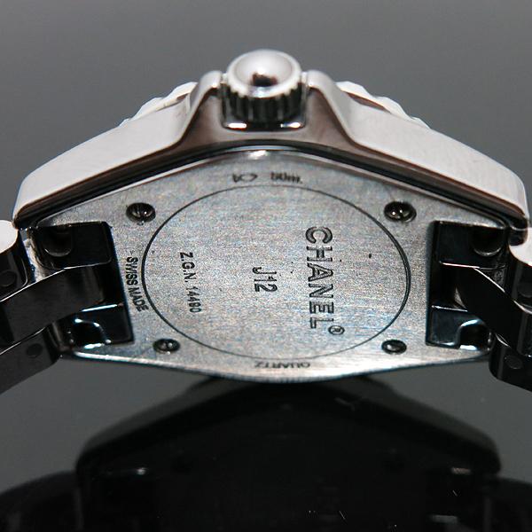 Chanel(샤넬) H2685 J12 29MM 그레이 티타늄 세라믹 베젤 쿼츠 8포인트 다이아 여성용 시계 [인천점] 이미지5 - 고이비토 중고명품