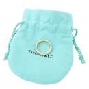 Tiffany(티파니) PT950(플래티늄) + 18K 옐로우골드 콤비 밀그레인 3MM 반지 - 8호 [강남본점]
